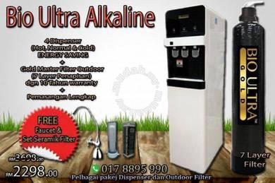 Water Filter Penapis Air Bio ULTRA cooler pAKEJ nB
