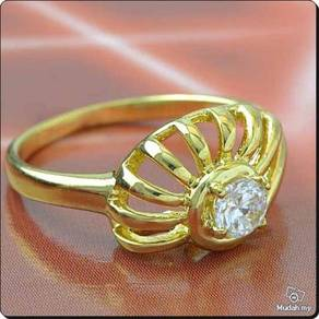 ABRGF-B001 9K Gold Filled Baby Child Ring - Size 3