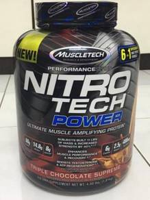 MUSCLETECH NITRO TECH POWER 1.81 KG Protein Susu