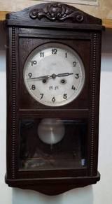 KIENZLE TAM TAM Antique Clock 2 Hole Germany RARE