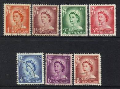 NEW ZEALAND QEII 1955 stamps CAT 6+ BK898