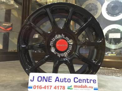 ModuLo wheels 16inc rim city jazz myvi axia blm