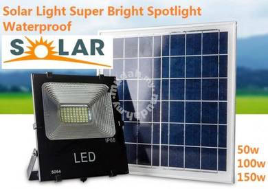 30W 50W solar panel solar Spotlight LED Wall Lamps