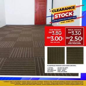 Stock clearance sale on carpet tiles-modular &best