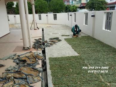Tanam Rumput pokok Artificial trim Pokok sepotong