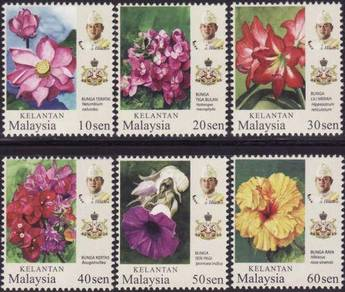 Mint Stamp Definitive Kelantan Malaysia 2018