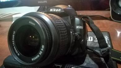 Nikon D5000 fullset + freegift