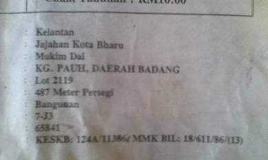 Pcb badang 5238 kp- Kota Bharu