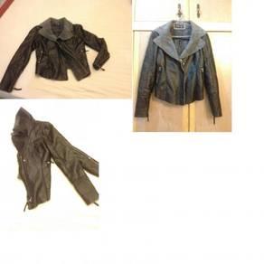 Korean tight-fitting women's denim jacket clothing