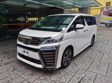 New Toyota Vellfire for sale