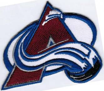 Colorado Avalanche NHL Hockey League Patch