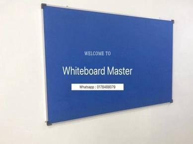 Size 4x4 foam notice board