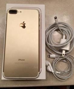 Complete iphone 7plus 128gb ori myset