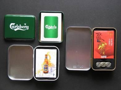 Carlsberg Tiger Beer Playing Card