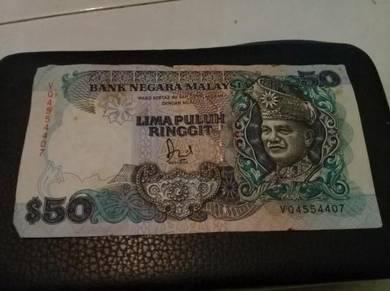 Duit kertas rm50 lama