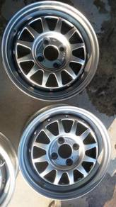 Rim 2nd WEDSPORT 14 4x100 5.5jj Ori Made In Japan