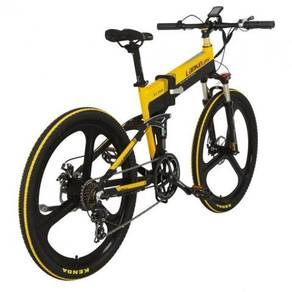 Folding Electric full-suspension bicycle