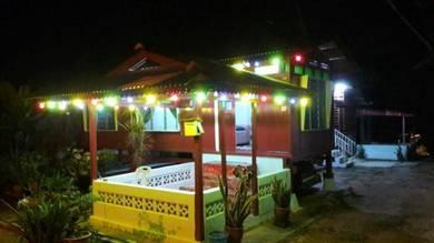 Homestay rumah tradisional melayu melaka