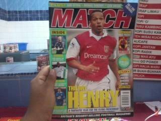 Majalah match 15 julai 2000
