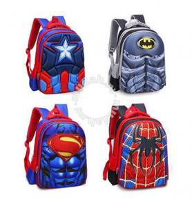 3D Marvel Cartoonl Primary School backpack