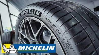 Michelin pilot sport 4 245/45/18 new tyre tayar 18
