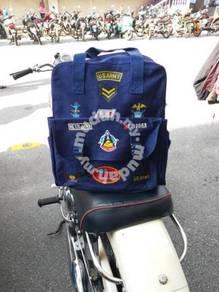 1980 School Bag Beg Sekolah Army levis nike adidas
