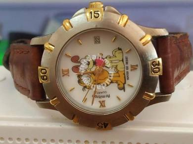 Vintage Garfield and odie lady watch