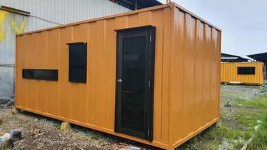 Premium Heavy Duty Office / Ofis Mewah Cabin Besi