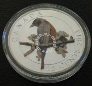 2013 Canada 25cent Commemorative Silver Coin