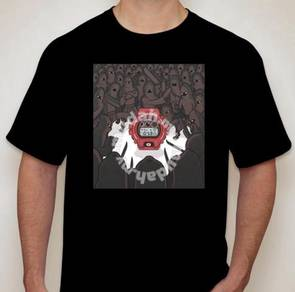 G-Shock tshirt design 4