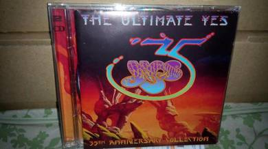 CD The Ultimate YES 35thAnniversary Collection 2CD
