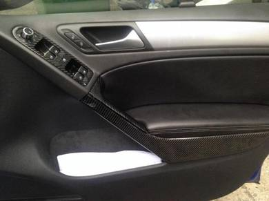 Vw Volkswagen Golf Carbon interior