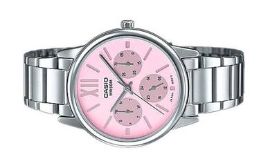 Casio Ladies Multi Hands Dress Watch LTP-E312D-4BV