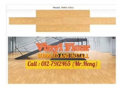 PVC Vinyl Floor In Excellent Install BD85
