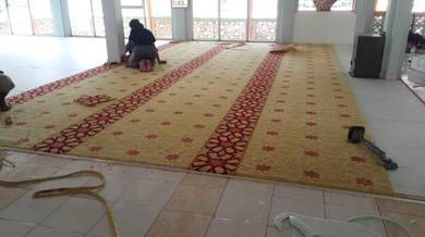 Karpet masjid wow uzairayyan