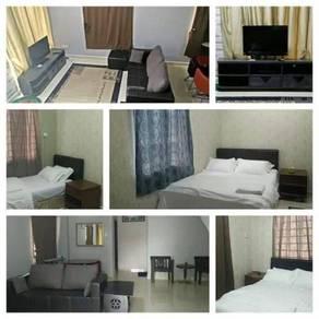 Bukit indah double storey 4 bedrooms fully furnished