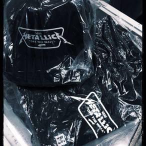 Vans X Metallica tshirt