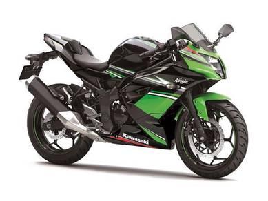 Kawasaki Ninja 250SL 18 Free Gift Items