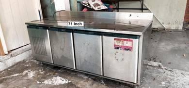 Peti Sejuk Meja Stainless Steel