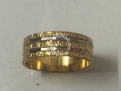 Gold Ring / Cincin Emas Saiz 13