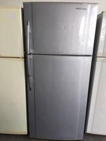 Panasonic Silver Refrigerator Sejuk 2 Doors Peti