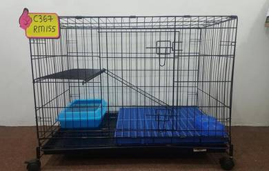 Sangkar kucing \ Cat cage (1 tingkat BESAR)