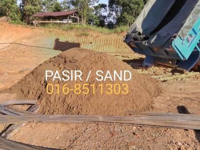 Membekal pasir black topsoil tanah timbus batu