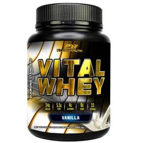 Vital Whey Halal 1kg,24g Protein Isolate-(Vanilla)