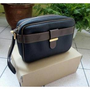 Authentic Dunhill Genuine Leather Clutch ®