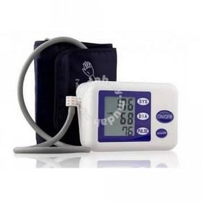 LCD Digital Upper Arm Blood Pressure and Heart Bea