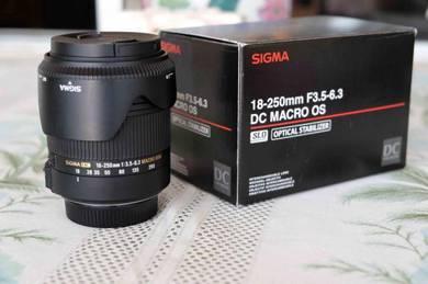 Nikon Mount Sigma Lens