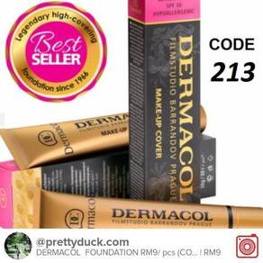 Dermacol Foundation 100%coverage code 213