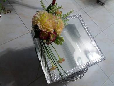 Dulang hantaran (trays for wedding)
