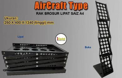 Rak Brosur Lipat Aircraft-Tech 25B